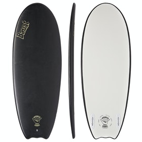 Spooked Kooks Batrat Twin Surfboard - Almost Black
