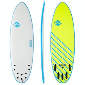 Softech Brainchild FCS II 5 Fin Surfboard - Blue Wave