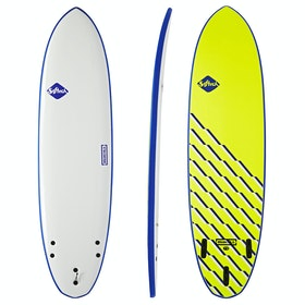 Softech Brainchild FCS II Thruster Surfboard - Navy Wave