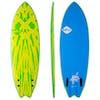 Surfboard Softech Mason Ho FCS II Twin - Lime Yellow