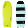 Catch Surf Beater Original Twin Fin Surfboard - Electric Lemon