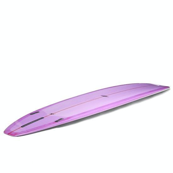 McTavish Fireball Evo Squaretail 2+1 - 9'1 Longboard Surfboard