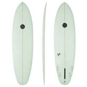 Maluku Auro FCS II 5 Fin Surfboard - Green