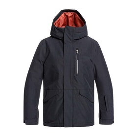 Quiksilver Mission Boys Snow Jacket - Black