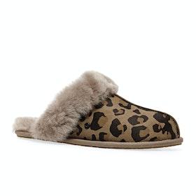 UGG Scuffette Ii Leopard Womens Slippers - Amphora