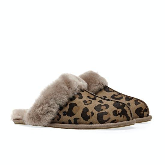 UGG Scuffette Ii Leopard Damen Pantoffeln