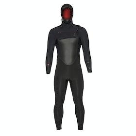 Xcel Drylock Hooded 5/4mm Wetsuit - Black