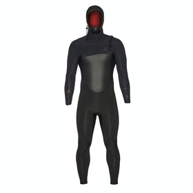 Combinaison de Surf Xcel Drylock Hooded 5/4mm - Black