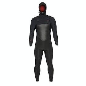 Xcel Drylock Hooded 6/5mm Wetsuit - Black