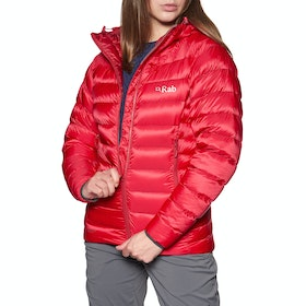 Giacca Montagna Donna Rab Electron - Ruby