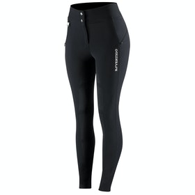B Vertigo Justine Thermo Silicone Full Seat Ladies Riding Breeches - Black