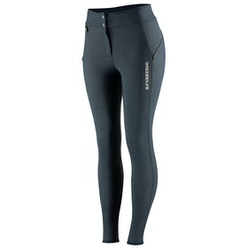 B Vertigo Justine Thermo Silicone Full Seat Ladies Riding Breeches - Dark Navy