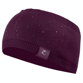 Horze Rhonda Knit Winter Ladies Headband - Prune Purple