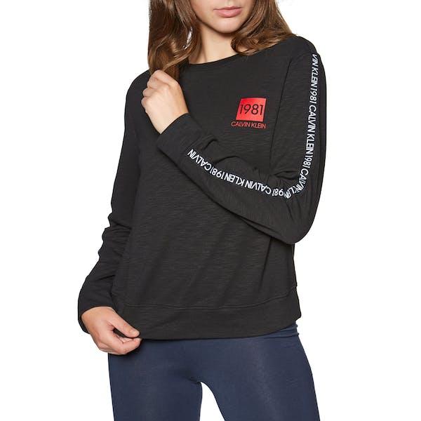 Calvin Klein 1981 Bold Lounge Sweatshirt Women's Loungewear