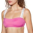 Calvin Klein Bandeau Romper Women's Bikini Top