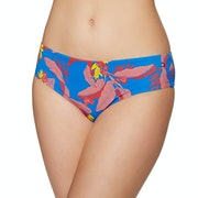 Tommy Hilfiger Tropical Print Hipster Bikini Bottoms