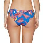 Tommy Hilfiger Tropical Print Hipster Dół bikini