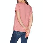 Tommy Hilfiger Round Neck Logo Women's Short Sleeve T-Shirt