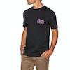 Quiksilver Daily Wax Short Sleeve T-Shirt - Black