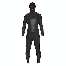 Xcel Infiniti Hooded 6/5mm Wetsuit - Black
