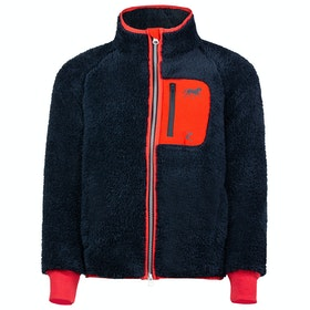 Horze Landry Childrens Fleece - Dark Navy