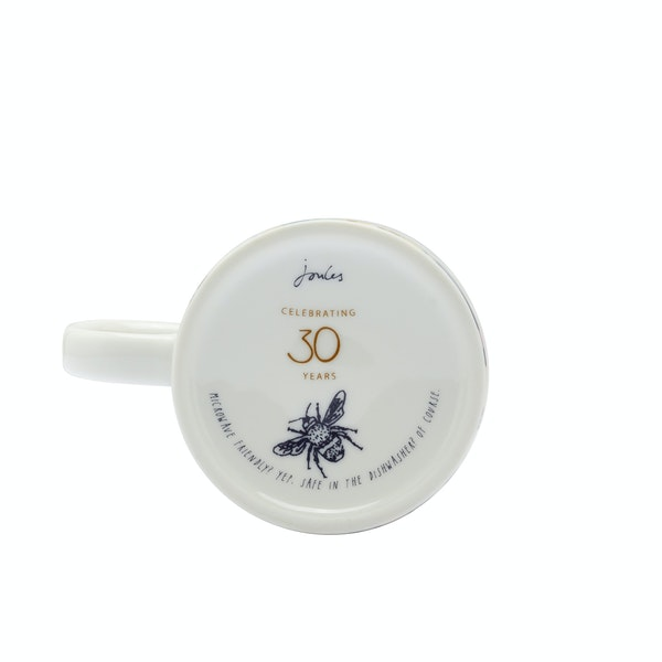 Joules Anniversary Cuppa Cup And Saucer