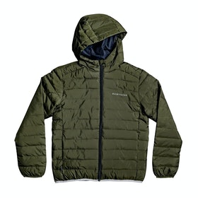 Quiksilver Scaly Youth Boys Jacket - Deep Depths