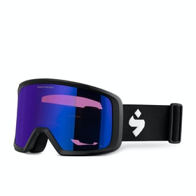 Sweet Firewall Snow Goggles - Matte Black ~ Satin Sapphire