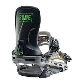 Rome Targa Snowboard Bindings - Black