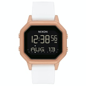 Nixon Siren SS Womens Watch - Rose Gold / White