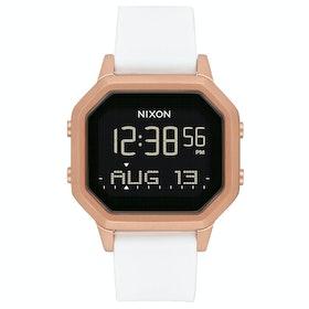Reloj Mujer Nixon Siren SS - Rose Gold / White