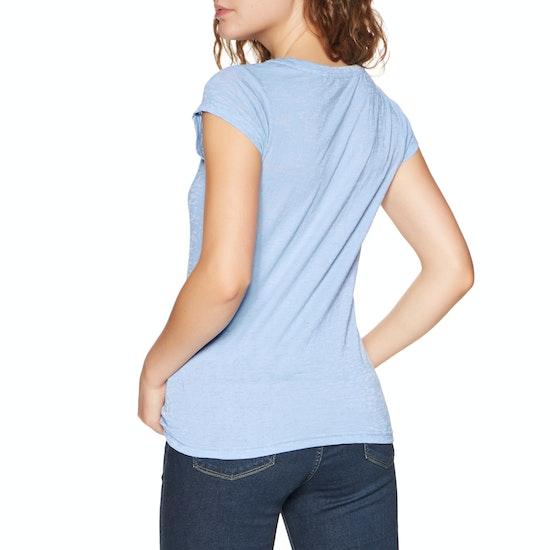 Animal Rolling Rain Womens Short Sleeve T-Shirt