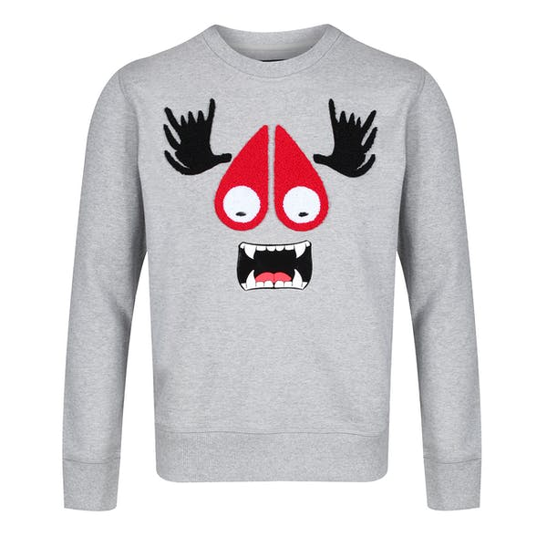 Moose Knuckles Moose Munster Sweatshirt Trui