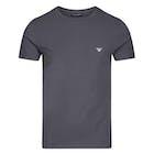 Emporio Armani Basic Stretch Knit Kurzarm-T-Shirt