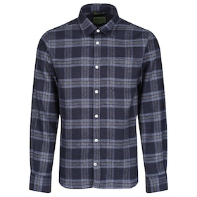Oliver Sweeney Censo Shirt - Navy Check