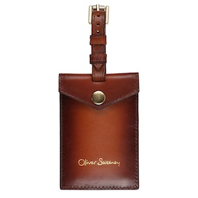 Oliver Sweeney Ilton Luggage Tag - Dark Tan