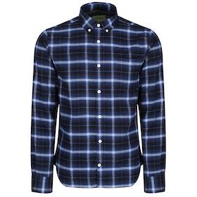 Oliver Sweeney Sotelo Shirt - Navy Check