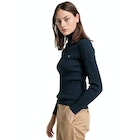 Gant Stretch Cotton Cable Turtle Neck Women's Knits