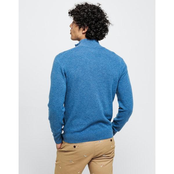 Gant Lambswool Half Men's Sweater