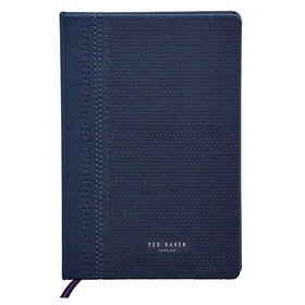 Ted Baker A5 Notebook Brogue Book - Navy