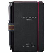 Ted Baker Mini Notebook And Pen Book