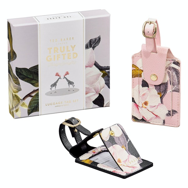 Étiquette pour Bagage Femme Ted Baker Set Of Two Luggage Tags