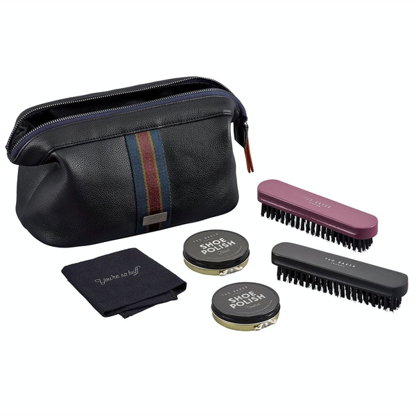 Ted Baker Shoe Shine Kit Grooming Gift Set