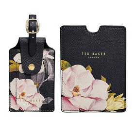 Targhetta per Bagaglio Donna Ted Baker Travel Set Passport And - Opal Black