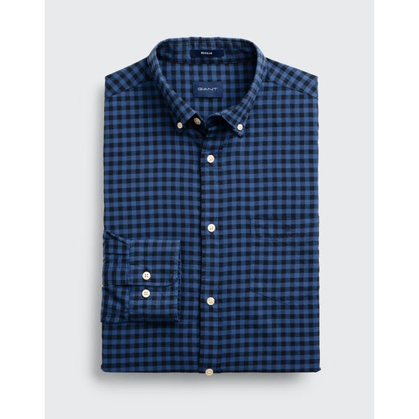 Gant Winter Twill Buffalo Check Hemd