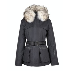 Troy London x Amanda Wakeley Elements Parka Fur Women's Jacket - Black