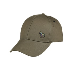 Cappello Uomo Paul Smith Zebra Baseball - Khaki