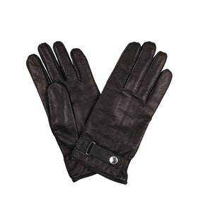 Paul Smith Leather Strap Gloves - Black