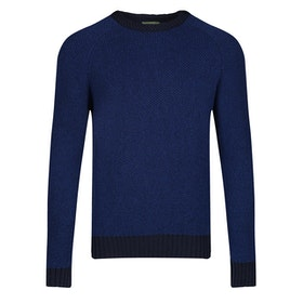 Oliver Sweeney Varziela Merino Crew Sweater - Navy