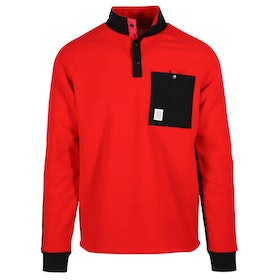 Topo Designs Mountain Fleece - Red/black